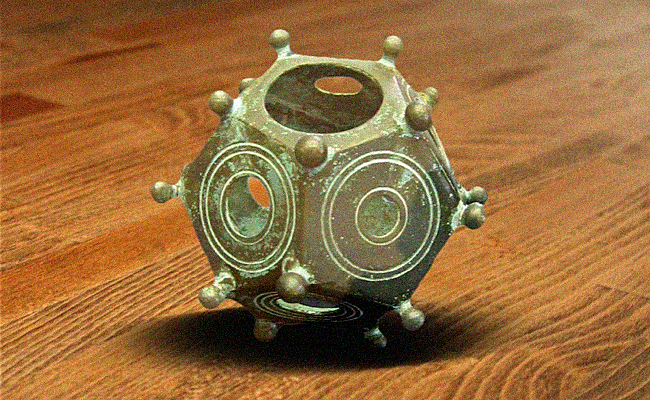 Did this man solve the age-old mystery of the Roman dodecahedrons?
