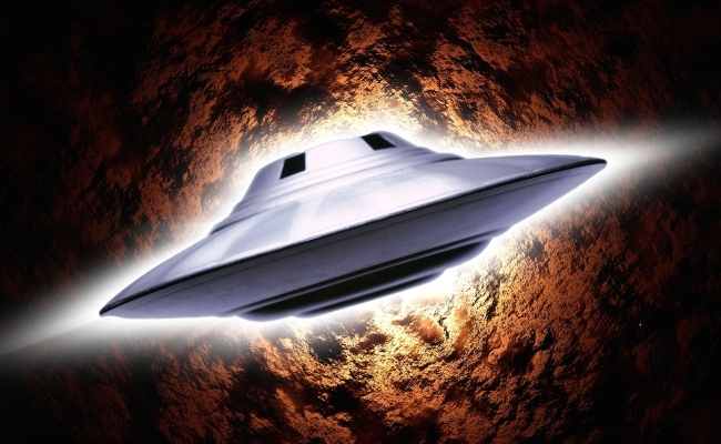 saucer-flight