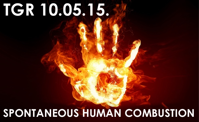 a history of and the reasons for spontaneous human combustion shc A one-year-old child treated for spontaneous human combustion  did not  have any health problem and discounted the possibility of shc.