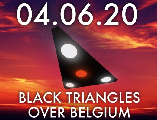 black triangle UFO