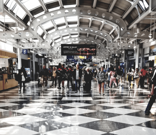 O'Hare concourse